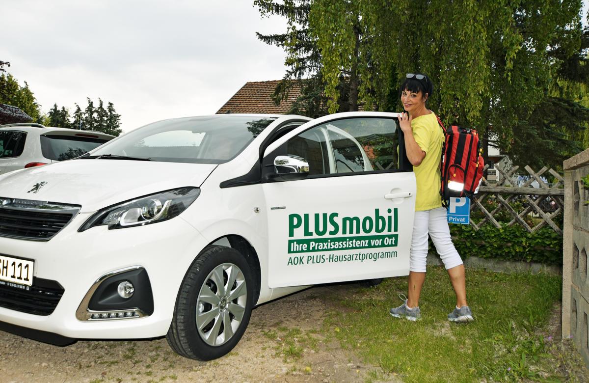 AOK Plus Mobil